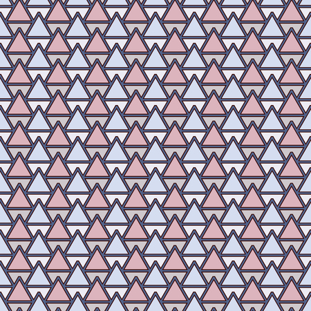 repeated: Repeated shapes seamless pattern