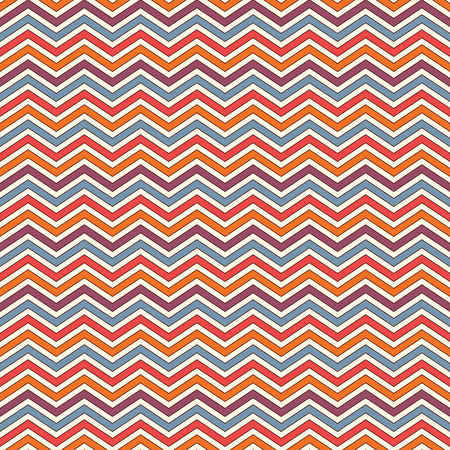 Chevron diagonal stripes abstract background. Bright seamless pattern with classic geometric ornament. Zigzag horizontal lines wallpaper. Vivid digital paper, textile print, page fill
