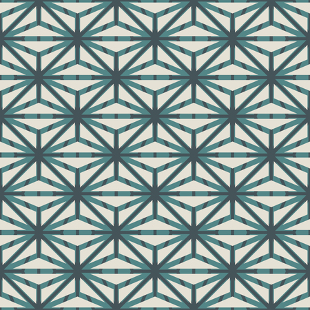 Repeated figures background. Seamless surface pattern with polygons.