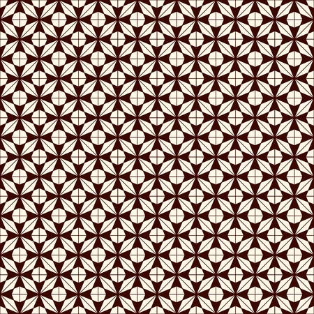 Asanoha seamless surface pattern. Traditional Japanese print with hemp leaf motif. Classic Asian ornament.  イラスト・ベクター素材