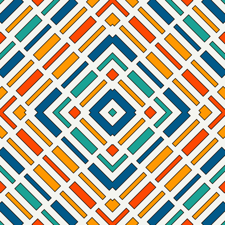 Diagonal dashed lines abstract background. Seamless pattern with geometric motif. Simple symmetric ornament. Иллюстрация