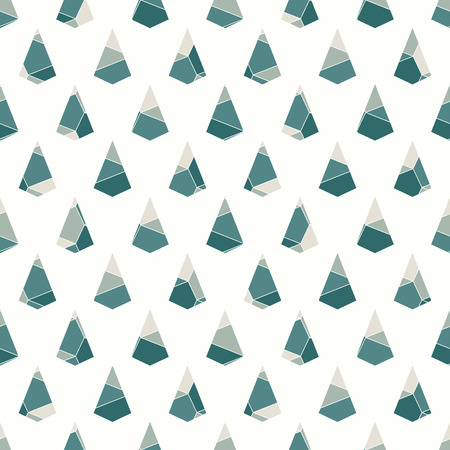 A Seamless surface pattern with cracked stones. Repeated mini triangles abstract wallpaper.