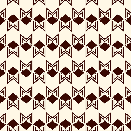 Seamless pattern with arrow fletching. Repeated chevrons wallpaper. Tribal and ethnic motif. Native americans ornamental abstract background. Boho chic digital paper, textile print. Vector art