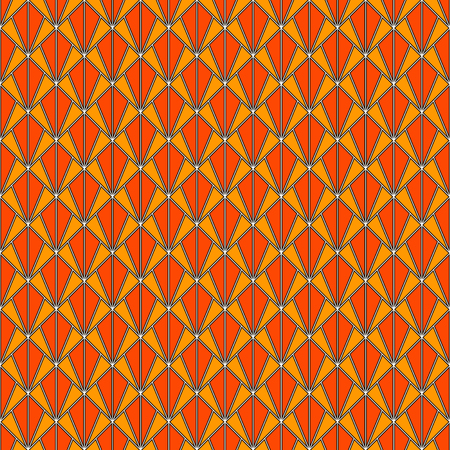 Interlocking triangles tessellation. Contemporary print with repeated scallops. Seamless surface pattern design with fish scales. Modern japanese abstract ornamental background. Squama motif. Vector