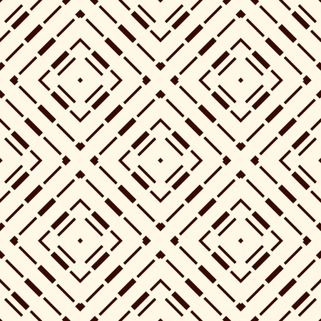 Ethnic style seamless pattern with geometric figures. Repeated stripes ornamental abstract background. Tribal motif. Boho chic digital paper, textile print, page fill. Vector art Ilustrace