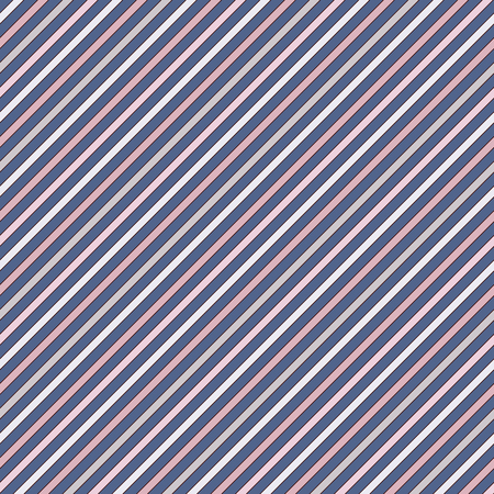 Diagonal stripes abstract background. Thin slanting line wallpaper. Seamless pattern with simple classic motif. Digital paper for scrapbook, textile print, page fill. Vector illustration