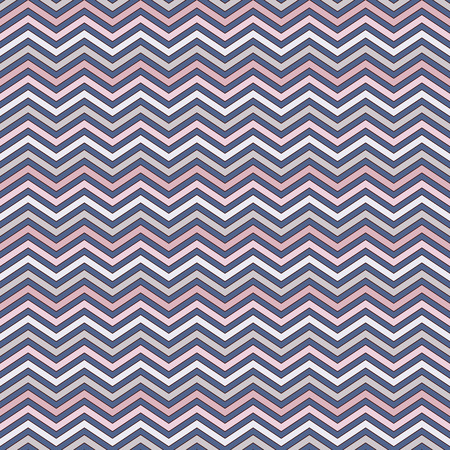 Chevron diagonal stripes abstract background. Seamless pattern with classic geometric ornament. Zigzag horizontal lines wallpaper. Digital paper, textile print, page fill. Vector art Ilustrace