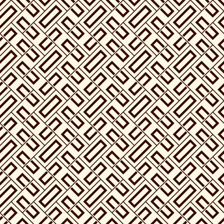 Herringbone wallpaper. Abstract parquet background. Seamless surface pattern with repeated rectangular tiles. Classic geometric ornament. Digital paper, textile print, page fill. Vector art