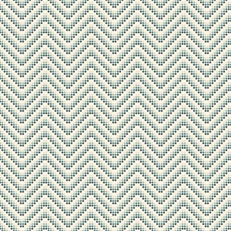 Polka dot seamless pattern. Repeated dotted zigzag stripes texture. Round spots motif. Mini circles abstract wallpaper. Simple minimalist geometric background. Vector digital paper, textile print Иллюстрация