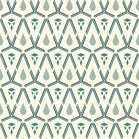 Seamless surface pattern with cracked stones. Repeated mini triangles abstract wallpaper. Ruined gems shapes motif. Modern print with geometric borders. Digital paper, textile print, page fill. Vector