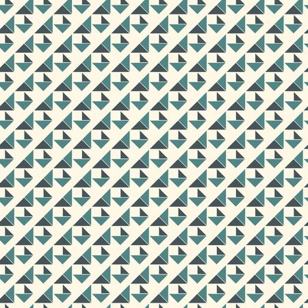 Seamless pattern with origami forms. Pastel color print with geometric shapes. Contemporary abstract background with repeated triangles. Modern style wallaper. Vector digital paper, textile print