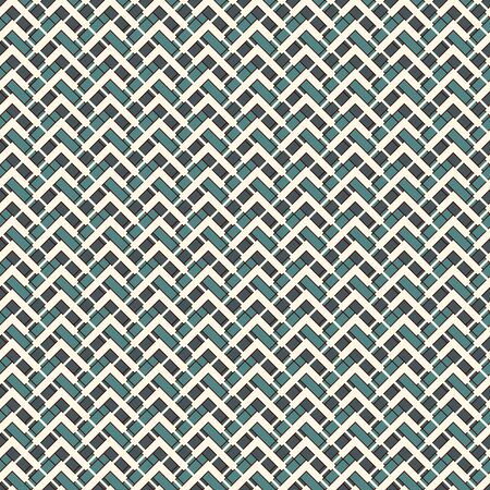 Chevron diagonal stripes abstract background. Seamless surface pattern with geometric ornament. Zigzag horizontal lines wallpaper. Embroidery style digital paper, textile print, page fill. Vector art