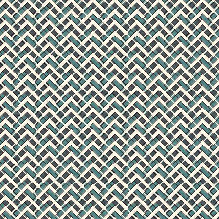 Fondo abstracto de rayas diagonales de Chevron. Patrón de superficie sin costuras con adornos geométricos. Papel pintado de líneas horizontales en zigzag. Papel digital estilo bordado, estampado textil, relleno de página. Arte vectorial