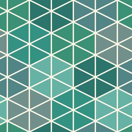 Patrón de cuadrícula contemporáneo. Adorno de figuras geométricas repetidas. Motivo de triángulos y hexágonos. Fondo abstracto moderno. Diseño de superficie sin costuras. Papel pintado de estructura simple. Papel digital, textil