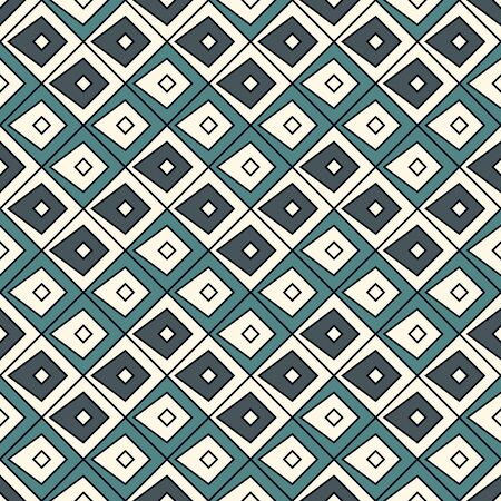 Scales seamless surface pattern. Ethnic, tribal wallpaper. Rhombuses, diamonds motifs. Ornamental abstract background. Repeated geometric figures. Digital paper, textile print, page fill. Vector art