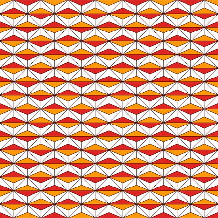 African style seamless surface pattern with abstract figures. Ethnic and tribal print with geometric forms. Ornamental background with repeated rhombuses and triangles. Digital paper, textile print.