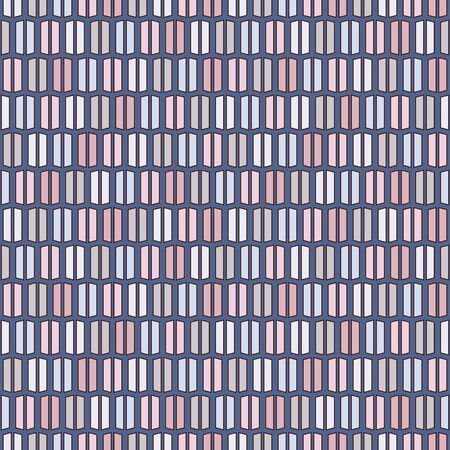 Pastel colors vertical lines background. Minimalist wallpaper. Seamless surface pattern with geometric ornament. Stripes motif. Modern style digital paper for textile print, page fill. Vector art  イラスト・ベクター素材