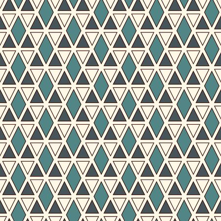 Ethnic, tribal seamless surface pattern. Native americans style background. Repeated triangles ornament. Pyramid motif. Boho chic digital paper, textile print. Modern geometric abstract wallpaper.