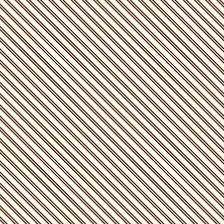 Outline diagonal stripes abstract background. Thin slanting line wallpaper. Seamless pattern with simple classic motif. Digital paper for scrapbook, textile print, page fill. Vector illustration Illustration