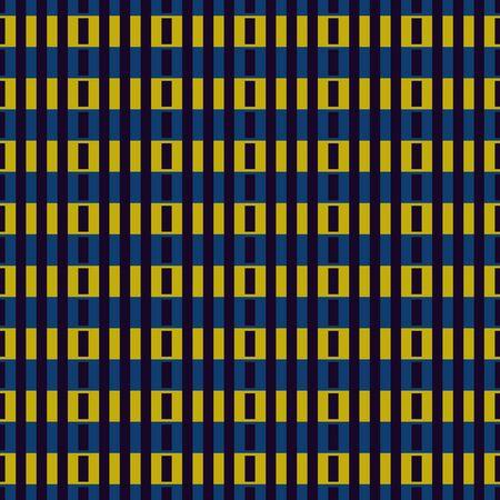Geometric seamless pattern. Minimal style background. Modular grid print. Straight stripe, line, stroke, rectangle, block ornament. Contemporary simple geo wallpaper. Modern abstract vector design