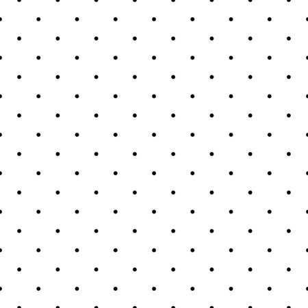 Seamless pattern. Circles ornament. Dots wallpaper. Polka dot motif. Geometric backdrop. Rounds background. Dotted motif. Vector artwork. Digital paper, textile print, web design, abstract. Vector Illustration