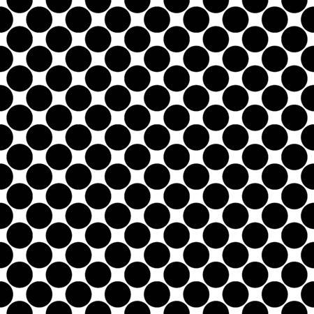 Seamless pattern. Big dots wallpaper. Circles ornament. Vector image. Polka dot motif. Circular figures backdrop. Rounds background. Dotted motif. Digital paper, textile print, web design, abstract