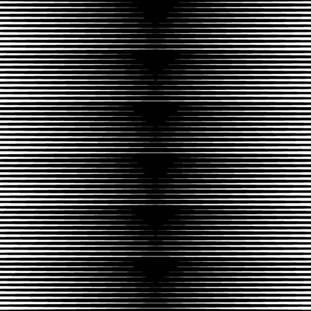 Stripes ornate. Lines seamless pattern. Striped image. Linear background. Strokes ornament. Abstract wallpaper. Modern halftone backdrop. Digital paper, web design, textile print, vector artwork Illustration