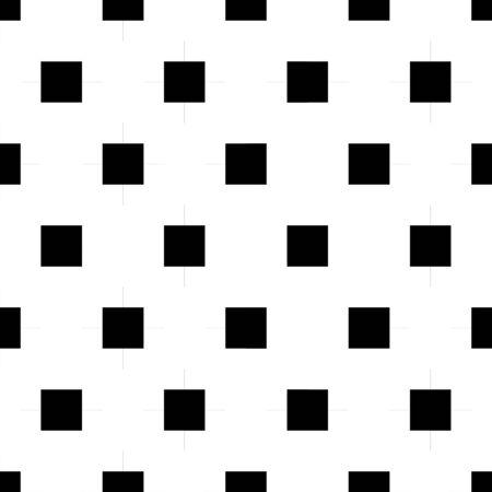 Squares seamless pattern. Checks ornament. Tiles wallpaper. Ethnic motif. Quadrangles backdrop. Geometric background. Digital paper, textile print, web design, abstract image. Geometrical vector. Illustration