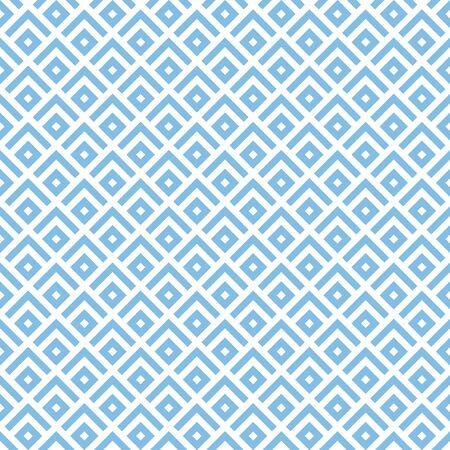 Japanese mountains motif. Arrows wallpaper. Ancient mosaic backdrop. Oriental pattern background. Ethnic ornament. Folk image. Digital paper, textile print, web design. Seamless art illustration. Ilustração