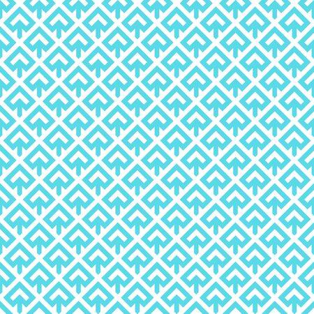 Arrows. Japanese motif. Ethnical wallpaper. Ancient mosaic backdrop. Oriental pattern background. Ethnic ornament. Folk image. Digital paper, textile print, web design. Seamless art illustration. Ilustração
