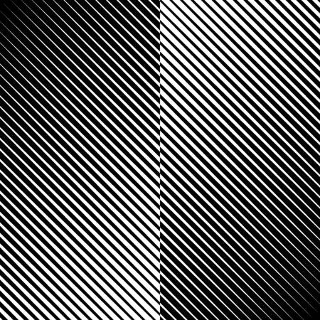 Diagonal lines print. Striped background. Linear pattern. Abstract ornament. Stripes motif. Strokes wallpaper. Modern halftone backdrop. Digital paper, web designing, textile illustration. Vector