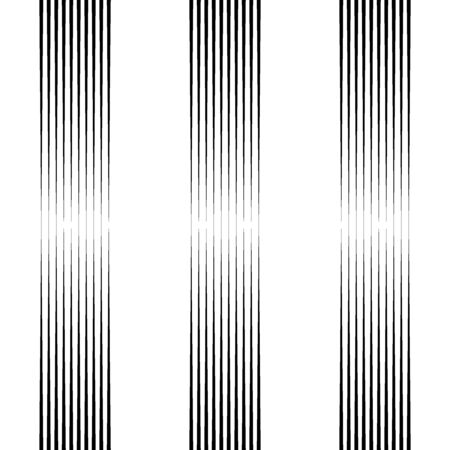 Lines seamless print. Striped background. Linear pattern. Abstract ornament. Stripes motif. Strokes wallpaper. Modern halftone backdrop. Digital paper, web designing, textile illustration. Vector