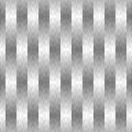 Lines pattern. Stripes seamless illustration. Striped image. Linear background. Strokes ornament. Abstract wallpaper. Modern halftone backdrop. Digital paper, web design, textile print. Vector art.  イラスト・ベクター素材