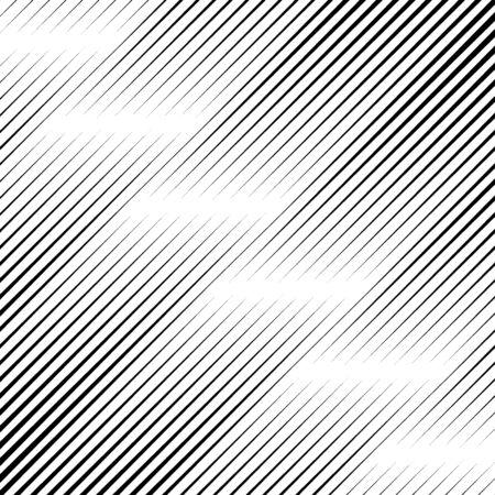 Lines pattern. Diagonal stripes ornate. Striped image. Linear background. Strokes ornament. Abstract wallpaper. Modern halftone backdrop. Digital paper, web design, textile print, vector art.