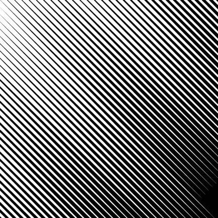 Lines pattern. Diagonal stripes illustration. Striped image. Linear background. Strokes ornament. Abstract wallpaper. Modern halftone backdrop. Digital paper, web design, textile print, vector artwork Stock Vector - 150319439