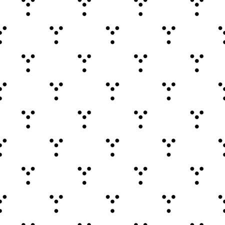 Circles seamless pattern. Dots print. Tribal image. Rounds background. Polka dot backdrop. Dotted motif. Ethnic textile ornament. Digital paper, folk web design, abstract wallpaper. Geometric vector. 벡터 (일러스트)