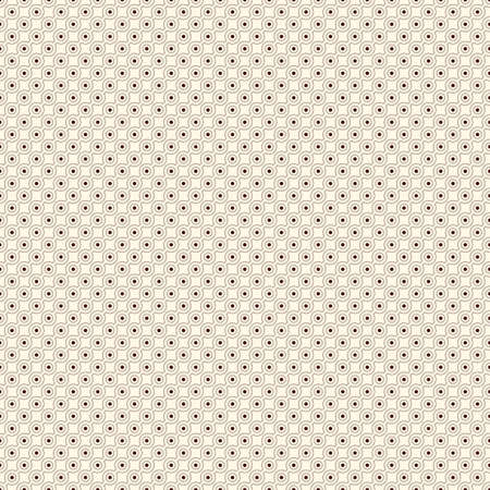 Outline seamless pattern with repeated diagonal lines and circles. Strings of beads motif. Minimalist geometric background. Modern style digital paper, textile print, page fill. Vector illustration