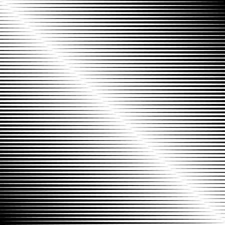 Stripes print. Striped ornament. Lines pattern. Linear background. Abstract illustration. Strokes wallpaper. Modern halftone backdrop Geometrical vector Ilustracje wektorowe