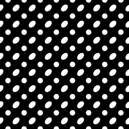 Seamless pattern. Circles, ovals ornament. Dots, figures motif. Polka dot wallpaper. Geometric backdrop. Rounds background. Dotted illustration. Spots image. Digital paper, textile print, abstract. Векторная Иллюстрация