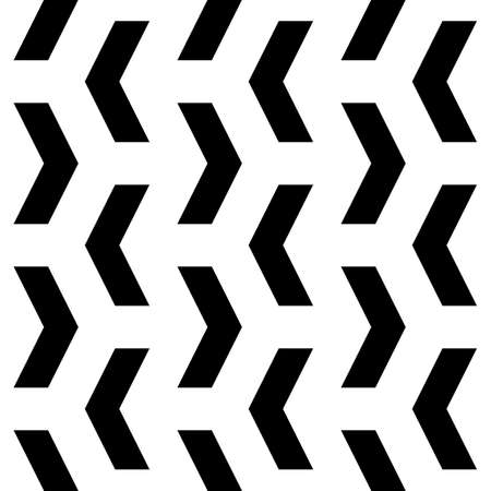 Chevrons. Curves ornament. Repeated angle brackets background. Abstract artwork. Ethic embroidery image. Modern japanese motif. Geometric backdrop. Digital paper for print. Seamless zigzag art pattern