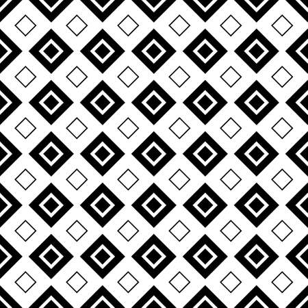 Rhombuses contours background. Seamless surface pattern design with diamonds ornament. Checks wallpaper. Ethnic mosaic motif. Digital paper for textile print, page fill, web designing. Vector art work