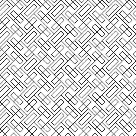 Geometric abstract. Slanted rectangle slabs. Herringbone pattern. Seamless surface design with tilted blocks. Repeated tiles ornament background. Mosaic motif. Pavement wallpaper. Digital paper vector