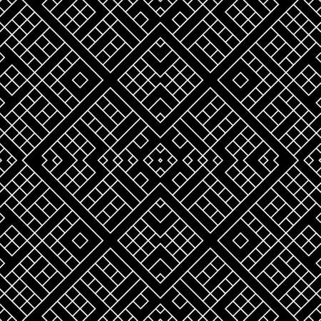 Seamless surface pattern design with ethnic ornament. Repeated white ornamental shapes composition. Embroidery motif. Cultural art wallpaper. Digital paper with ancient ornaments. Decorative work.