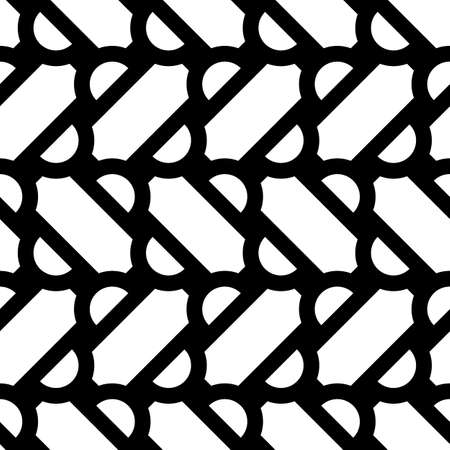 Grid image. Herringbone pattern. Slabs tessellation. Seamless surface design with slanted blocks tiling. Floor cladding bricks. Repeated tiles ornament background. Mosaic motif. Pavement wallpaper. Stock Illustratie