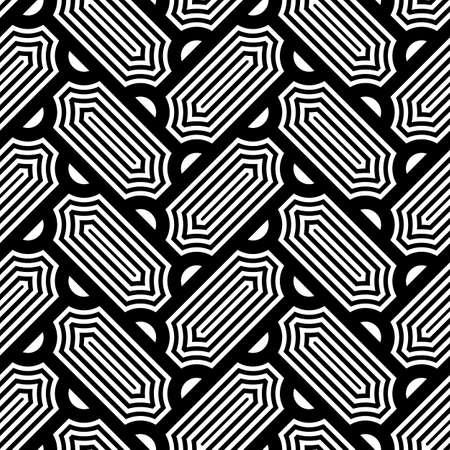 Seamless surface design with slanted figures. Grid image. Herringbone pattern. Slabs tessellation. Floor cladding bricks. Repeated tiles ornament background. Mosaic motif.