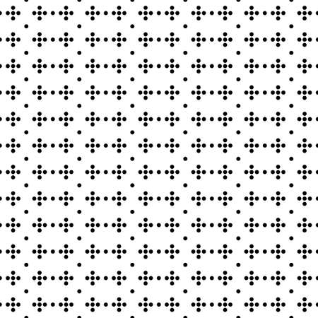 Seamless surface pattern with symmetric geometric ornament. Round spots texture. Circles abstract background. Polka dot motif. For digital paper, textile print, web design. Vector art illustration Stock fotó - 155841935