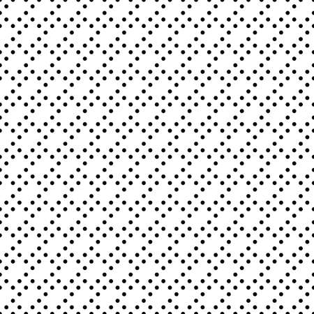 Seamless surface pattern with symmetric geometric ornament. Round spots texture. Circles abstract background. Polka dot motif. For digital paper, textile print, web design. Vector art illustration Stock fotó - 155841979
