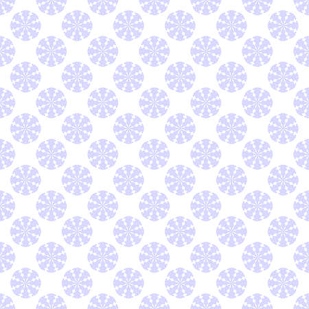 Seamless pattern with violet snowflake on white background. Winter season wallpaper. Snow motif. For digital paper, page fills, web design, surface textures, textile print. Vector art illustration Stock fotó - 155841990