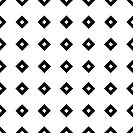 Seamless surface pattern design. Repeated black figures on white background. Symmetric abstract wallpaper. Oriental tile motif. Digital paper for textile print, page fill. Vector art illustration Stock fotó - 155842003