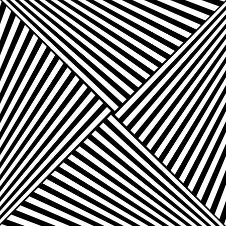 Diagonal striped illustration. Repeated white slanted lines on black background. Surface pattern design with linear ornament. Disco lights motif. Stripes wallpaper. Angle rays. Pinstripes vector art